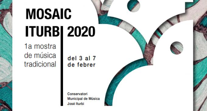 El Conservatorio Superior José Iturbi inaugura la primera muestra de música tradicional