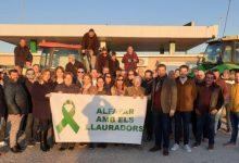 Alfafar dona suport als agricultors en les seues reivindicacions