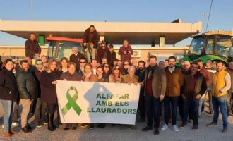 Alfafar apoya a los agricultores en sus reivindicaciones