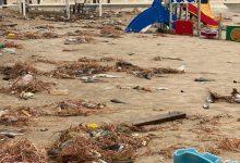 Joves PV, en contra de la reconstrucció del litoral devastat pel temporal Glòria