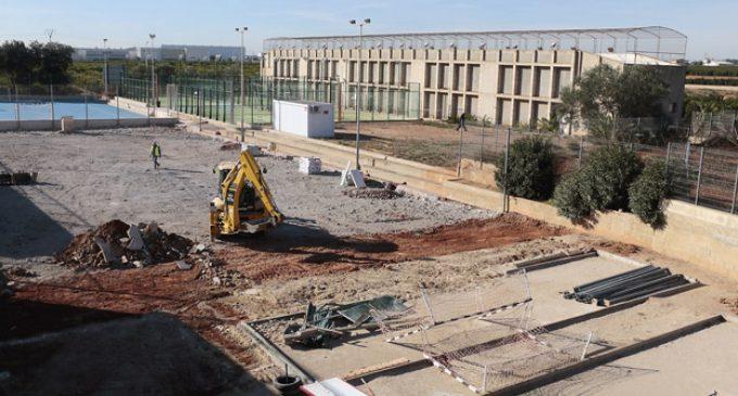 El poliesportiu de Puçol tindrà una pista coberta