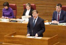 """Puig contestarà aquesta setmana en Corts a preguntes sobre el """"saqueig"""" en RTVV per la visita del Papa, dones i atur"""
