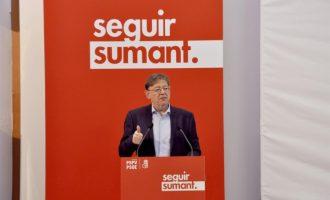"""Puig es mostra """"segur"""" que els Pressupostos de Sánchez """"compliran amb els valencians"""""""