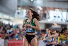 Yurena Hueso García guanya la medalla d'or en el 800 m femení