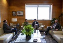 Mavi Mestre anuncia a Jorge Rodríguez l'inici dels tràmits per implantar a Ontinyent el màster de Psicologia General Sanitària