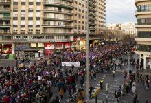 La Comunitat Valenciana mantiene las concentraciones por el 8 de marzo