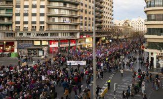 La Comunitat Valenciana manté les concentracions pel 8 de març