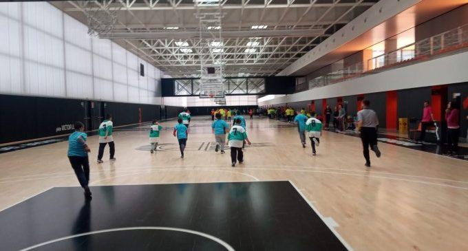 La jornada de bàsquet inclusiu s'ha celebrat a l'Alqueria del Basket amb més de 350 participants