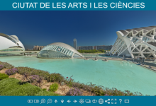 La Ciutat de les Arts i les Ciències pot explorar-se des de casa