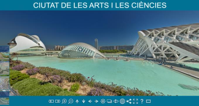 La Ciutat de les Arts i les Ciències puede explorarse desde casa