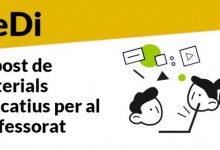 Educación activa el 'Rebost Digital', un espacio web con material didáctico para todas las etapas educativas