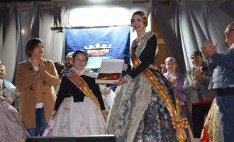 Alicia Pérez y Lucía López, protagonistas de la Crida fallera en Sedaví