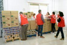 Paiporta refuerza la tarea de Cruz Roja con las familias en situación de vulnerabilidad