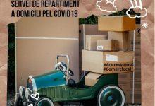 Alzira llança un servei de repartiment a domicili per als comerços locals
