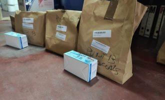 L'Ajuntament d'Alzira rep el material sanitari de la Generalitat per a tota la Ribera