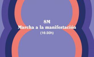 El 8 de marzo Burjassot participará en la manifestación por el Día Internacional de la Mujer