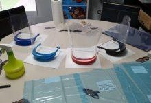 Paterna inicia una red de voluntarios para la fabricación de pantallas protectoras para el personal sanitario