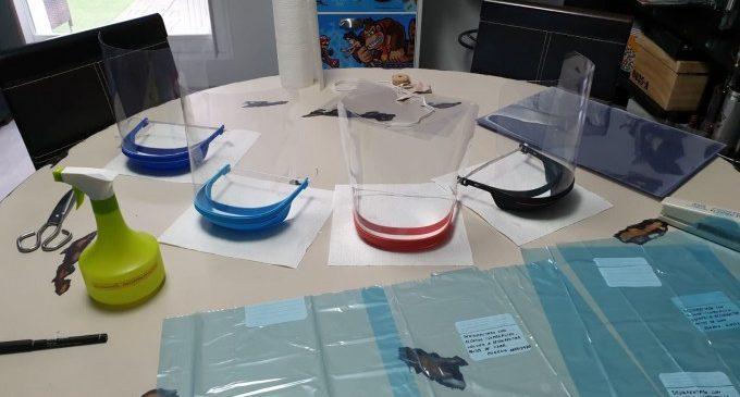 Paterna inicia una xarxa de voluntaris per a la fabricació de pantalles protectores per al personal sanitari