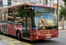 El servicio de autobús urbano será gratuito en Fallas