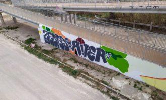 """Un """"acto vandálico"""" esconde el arte de """"Género Fresco"""" en Meliana"""