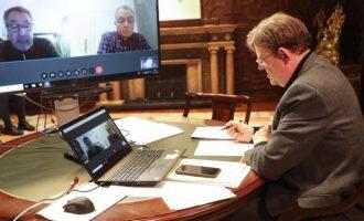 Ximo Puig destaca l'acolliment favorable dels agents socials valencians al reial decret llei de mesures urgents per a afrontar l'impacte econòmic i social del COVID-19
