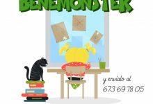 Benetússer 'defensa' les seues cases amb dibuixos infantils contra el coronavirus
