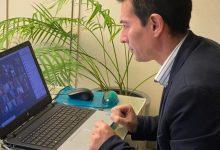 El Ple ordinari de març, celebrat a Burjassot per videoconferència