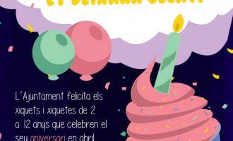 Alzira celebra el cumpleaños de sus niños y niñas