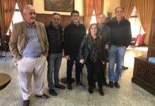 """Jorge Rodríguez es reuneix amb la nova directiva del """"Círculo Industrial y Agrícola"""" d'Ontinyent"""