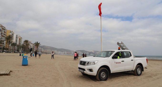 Cullera tanca les seues platges per a prevenir el coronavirus