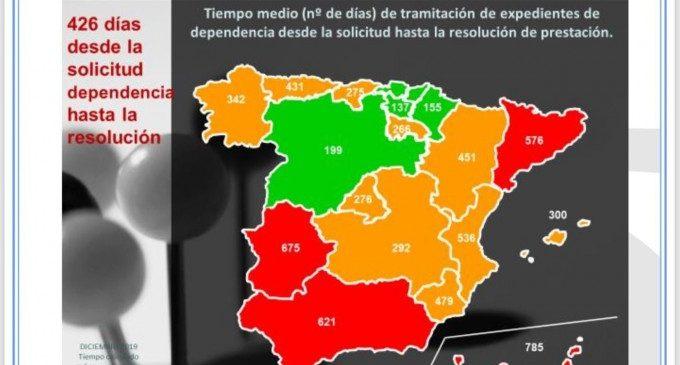 La llista d'espera en dependència a la Comunitat Valenciana creix un 1,9%