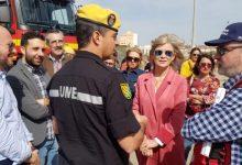 La Diputació expone sus medios de prevención y extinción de incendios en la jornada de puertas abiertas del 112 GVA