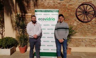 L'Ajuntament d'Almàssera i Ecovidrio fomenten el reciclatge d'envasos de vidre durant les Falles 2020