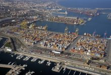 Valenciaport canalitza 428.000 contenidors durant el mes de gener passat, un 2,18% menys que el mateix any de 2019
