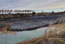 Controlat l'incendi del Parc Fluvial del Túria en Riba-roja, que va obligar a evacuar a 1.300 alumnes
