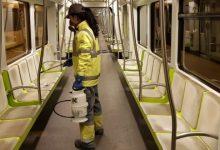 Generalitat reforça protocols de neteja en Metrovalencia, TRAM d'Alacant, TRAM de Castelló i autobusos