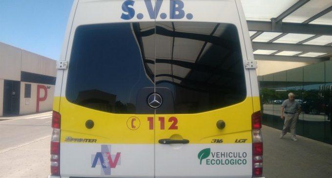 Un motorista resulta ferit en un accident amb un cotxe a València