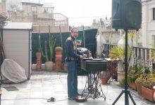 Un DJ convoca a prendre l'aperitiu des de les seues cases i retransmet una mascletà per a celebrar San José