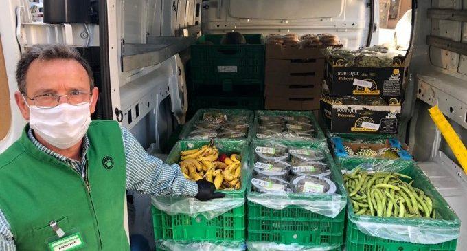 Mercadona reactiva la donació de productes de primera necessitat amb diverses entitats socials de València