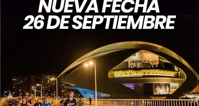 La 15K nocturna Valencia Banco Mediolanum se pospone al sábado 26 de septiembre