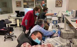 Preparat per a la seua producció industrial un nou ventilador mecànic per a tractar a pacients de Covid-19