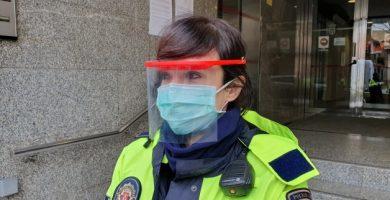 La Policía Local de Torrent diseña una máscara fácil de fabricar en una impresora 3D para reforzar la protección contra el COVID-19