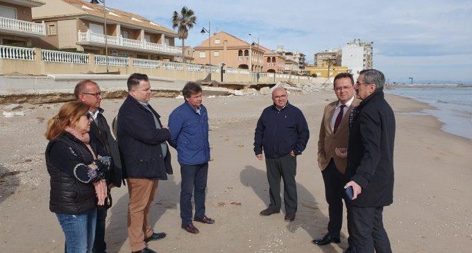 La Generalitat confirma que actuarà a les platges de Sueca per a millorar la seua seguretat i  infraestructures després dels greus danys de Glòria