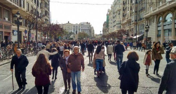 La peatonalització de la plaça de l'Ajuntament s'ajorna fins a la contenció del coronavirus