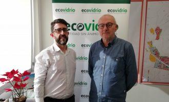 Sueca i Ecovidrio fomenten el reciclatge d'envasos de vidre durant les Falles 2020