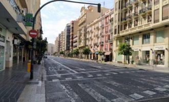 El flujo interno del área metropolitana de València baja un 97,2%  durante el confinamiento, de 357.329 movimientos a 10.004