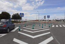 Movilidad Sostenible ejecuta un itinerario peatonal seguro en Font d'en Corts en el marco de la crisis sanitaria por COVID-19