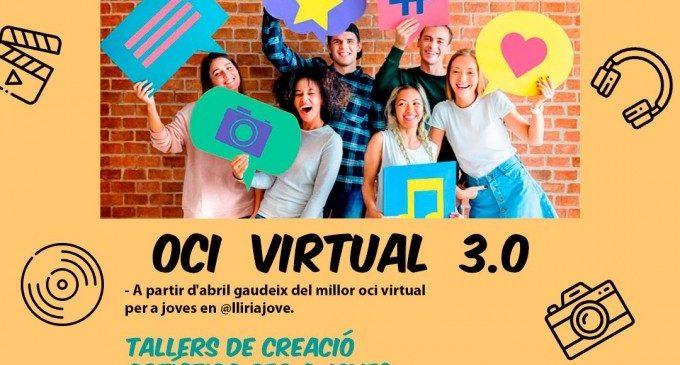 Llíria Jove oferix activitats d'oci virtual per als més joves