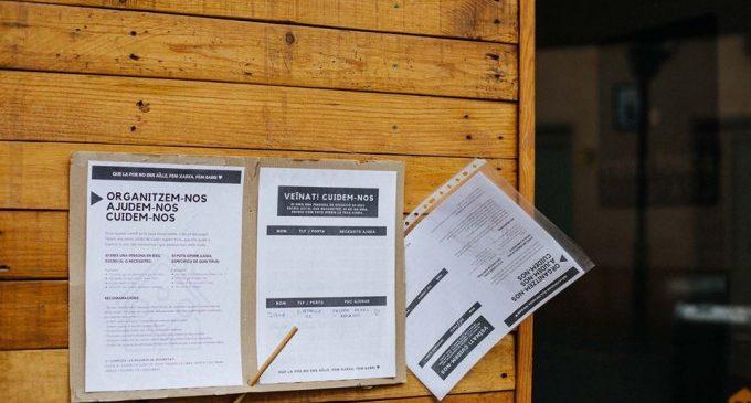 La solidaritat porta a porta s'estén en els veïnats valencians