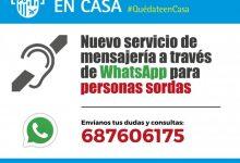 El Ayuntamiento de Quart de Poblet pone en marcha un servicio de mensajería via WhatsApp para personas sordas